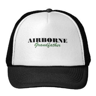Abuelo aerotransportado gorras de camionero
