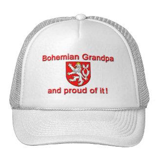 Abuelo bohemio orgulloso gorro