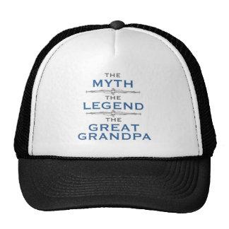 Abuelo de la leyenda del mito gran gorra