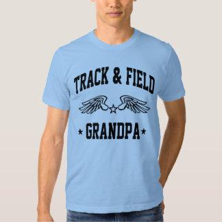 Abuelo del atletismo camiseta