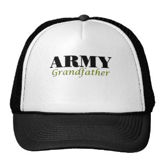 Abuelo del ejército (cursivo) gorros