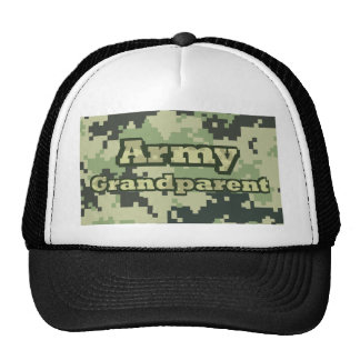 Abuelo del ejército gorro de camionero