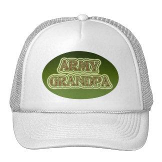 Abuelo del ejército gorros