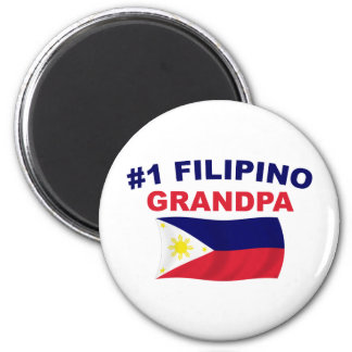Abuelo del filipino 1 imán para frigorifico