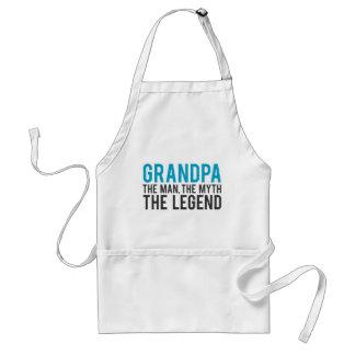 Abuelo, el hombre, el mito, la leyenda delantal