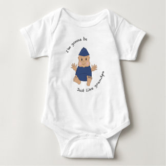 Abuelo experimental body para bebé