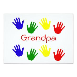 Abuelo Invitación Personalizada