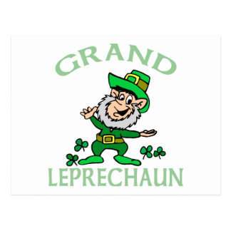 Abuelo irlandés postal