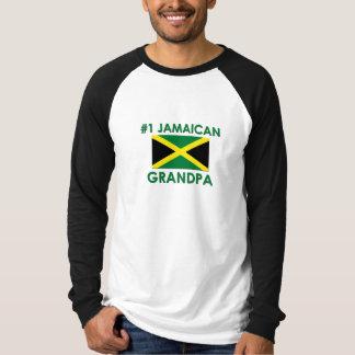 Abuelo jamaicano #1 camisas