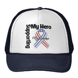 Abuelo - militar que apoya a mi héroe gorro