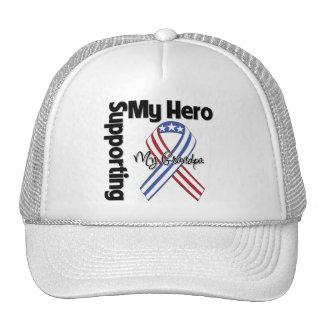 Abuelo - militar que apoya a mi héroe gorro de camionero