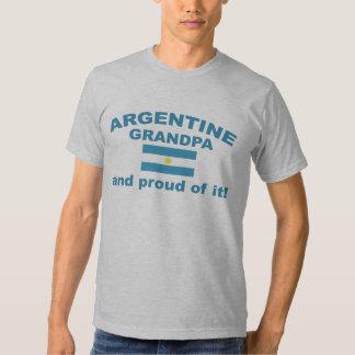Abuelo orgulloso de Argentina Camiseta