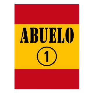 Abuelos españoles: Uno de Abuelo Numero Postal