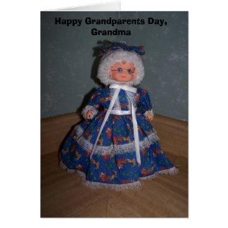 Abuelos felices día, abuela tarjetas