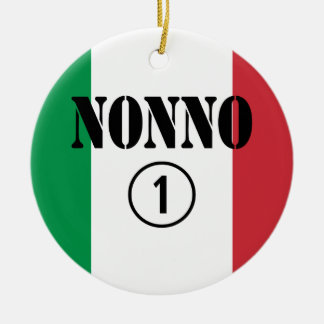 Abuelos italianos Uno de Nonno Numero