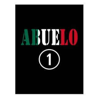 Abuelos mexicanos: Uno de Abuelo Numero Postal