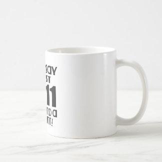 Acabo de dar vuelta a la demanda 11 un recuento taza de café