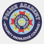 Academia de policía pegatinas