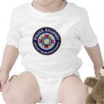 Academia de policía traje de bebé