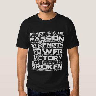 Academia del caballero de Jedi Camisetas