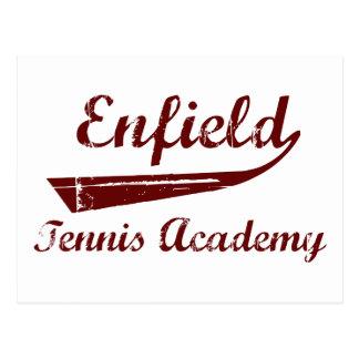 Academia del tenis de Enfield Tarjeta Postal
