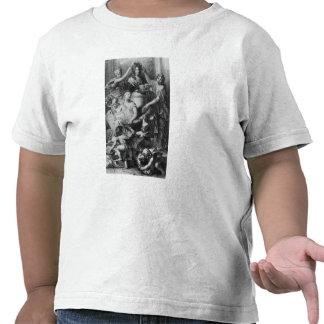 Academia francesa Dictionary del Frontispiece ' Camiseta