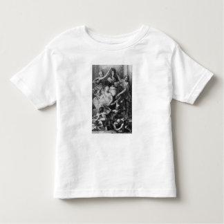 Academia francesa Dictionary del Frontispiece ' Camiseta De Niño