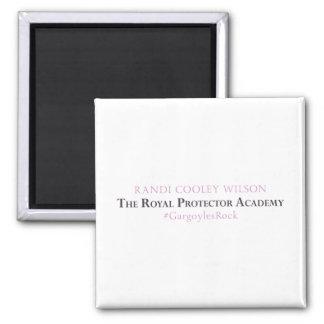 Academia real del protector - imán del autor
