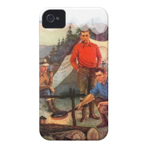 Acampada de los individuos solamente Case-Mate iPhone 4 coberturas