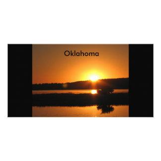acampada, Oklahoma Tarjetas Fotográficas Personalizadas