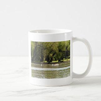acampada taza de café