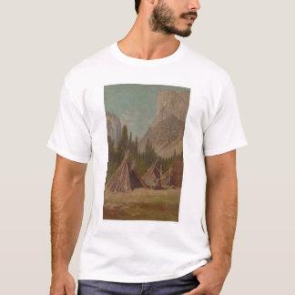 Acampamento indio en el valle de Yosemite (1189) Camiseta