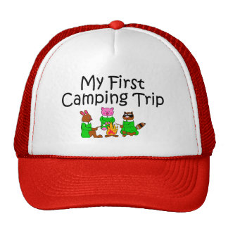 Acampando mi primera acampada gorras de camionero