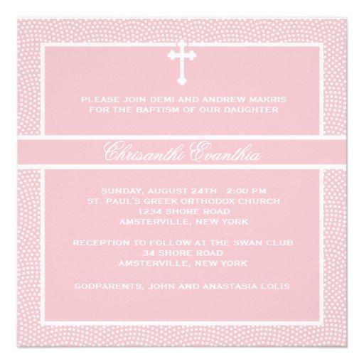Acariciado - invitación religiosa