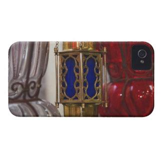 Accesorios de cristal de la lámpara, bazar del EL  iPhone 4 Case-Mate Protector