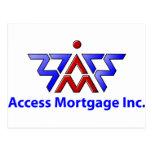 Access Mortgage Inc. Tarjeta Postal