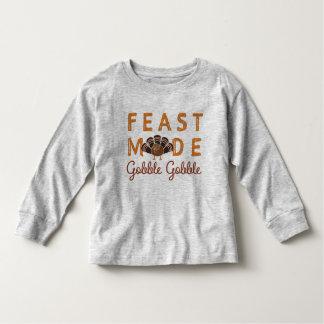 Acción de gracias camiseta de bebé