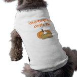 Acción de gracias Cutie Camisas De Mascota