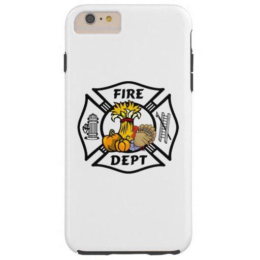Acción de gracias del bombero funda de iPhone 6 plus tough