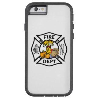 Acción de gracias del bombero funda para  iPhone 6 tough xtreme