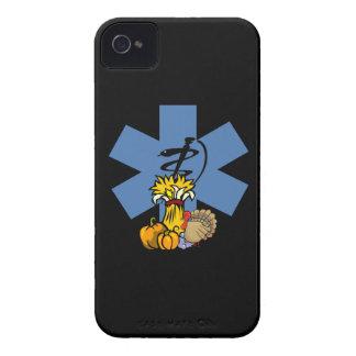 Acción de gracias del ccsme para EMT y los paraméd Case-Mate iPhone 4 Protectores