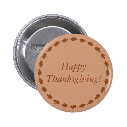 ¡Acción de gracias feliz! Pin