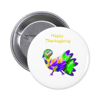Acción de gracias feliz pins