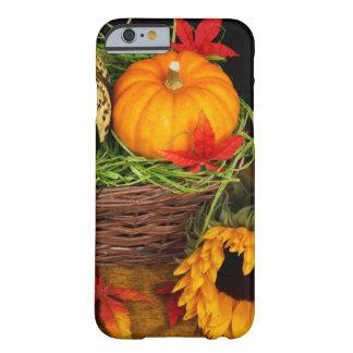 Acción de gracias feliz de la cosecha de la funda para iPhone 6 barely there
