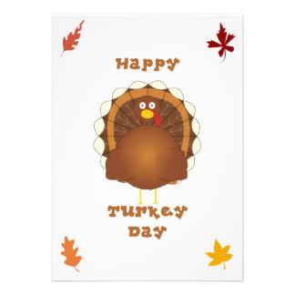 Acción de gracias feliz del día de Turquía