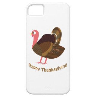 ¡Acción de gracias feliz! Turquía linda iPhone 5 Cárcasa