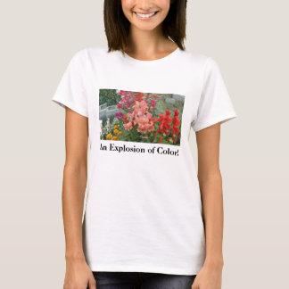 ¡Acción Naranja-Rosada en 3=D! Camiseta