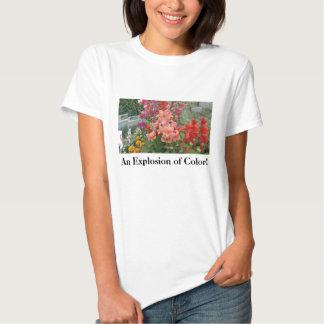 ¡Acción Naranja-Rosada en 3=D! Camisetas