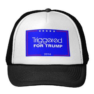 Accionado para el gorra del camionero del triunfo