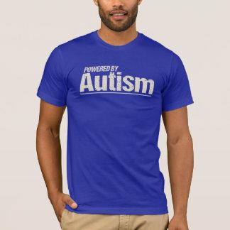 Accionado por la camisa del autismo